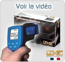 THERMOMETRE INFRAROUGE LASER SANS CONTACT -30° à + 550°
