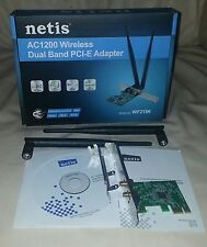 PCI-E /AC1200 (5GHz/867 + 2.4GHz/300) w/Std & Low Profile Brackets + 2x 5dB Ant