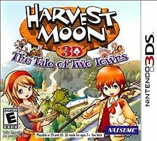 Harvest Moon 3D: The Tale of Two Towns (Nintendo 3DS, 2011)