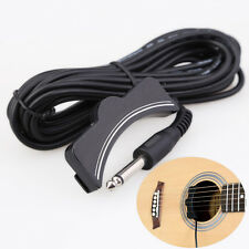 New Classical Acoustic Guitar Amplifier Soundhole Pickup 6.3mm Jack 5M Cable