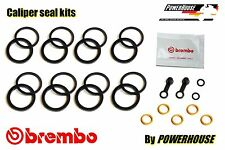 Ducati Monster M 1100 S front brake caliper seal repair kit 2009 2010 2011 2012