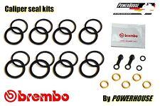 Ducati Monster M 1100 S front brake caliper seal repair kit 2009 2010 2011 2012