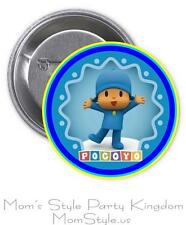 Pocoyo Pin Button