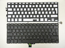 "Spanish Keyboard & Backlit for MacBook Pro 13"" A1278 2009 2010 2011 2012 Unibody"