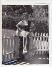 Marie McDonald busty leggy VINTAGE Photo
