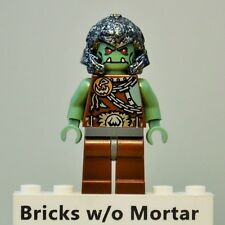 New Genuine LEGO Troll Warrior 3 / Orc Minifig Castle 7037 7041 7048 7097