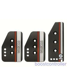 Sparco Pedal Set Settanta Black 037879IOP01  In-Stock, ready to ship