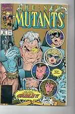THE NEW MUTANTS VOL 1 # 87 (SECOND PRINT) / FINE / 1st CABLE.