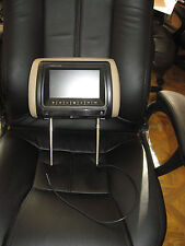 "BOSS HIR7BGTM 7"" WIDESCREEN LCD TFT MONITOR HEADREST WITH REMOTE !!!"
