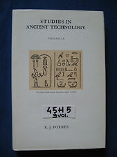 FORBES STUDIES IN ANCIENT TECHNOLOGY (9 vol.)