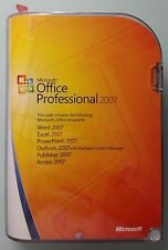 Office 2007 PROFESSIONAL PRO retailbox inglese English Versione Completa CD 269-10342