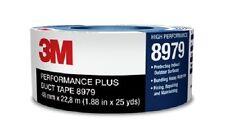 Adhesif de Masquage Longue Durée BLEU 3M 8979 Performance Plus - 48 mm x 22.8 m