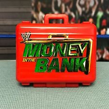 """WWE Wrestling Mattel Red Money in the Bank Briefcase Accessory for 6-7"""" Figures"""