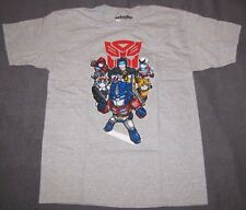 XL LG TRANSFORMERS MENS T-SHIRTS OPTIMUS PRIME RATCHET JAZZ BUMBLE BEE AUTOBOTS