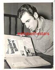 Vintage Bruce Dern HANDSOME SIDEBURNS '67 COLLEGE DAYS Press Portrait EARLY