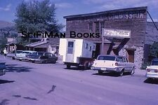 KODACHROME 35mm Slide Old Classic Cars Wings Station Wagon Truck Camper 1962!!!