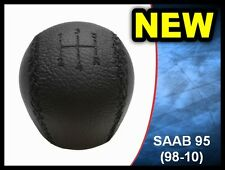 NEW GEAR KNOB SHIFT KNOB SAAB 95 9-5 LEATHER 4777074 (1998-2010) 5 SPEED **NEW**