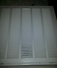 "NIB Trueaire smooth glide return air filter grille. 20""×20"" fold out air return."