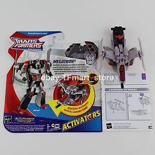 "Hasbro Transformers Animated Activator Megatron ""One-Button-Transform"""