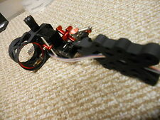 PSE X-Force Legend 4 Pin MOVABLE Bow Sight Black EXTREME ARCHERY  GREAT BUY