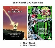 SHORT CIRCUIT 1 2  Ally Sheedy, Steve Gutte  BRAND NEW AND SEALED UK R2 DVD