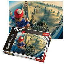 Trefl 1000 Piece Adult Large Great Dreams Swinging Child Floor Jigsaw Puzzle NEW