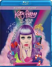 Katy Perry: The Movie Part of Me 3D (Blu-ray + 3D Blu-ray +DVD)  NEW
