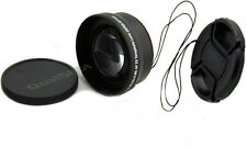 Telephoto 52mm Lens + front cap for Canon 1100D 700D 650D 7D 60D