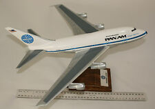 PAN AMERICAN BOEING B747 SP -  LARGE 1:144 SCALED HANDCRAFTED DESKTOP MODEL