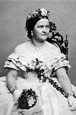 New 5x7 Photo: Wife of Abraham First Lady Mary Todd Lincoln Portrait, circa 1860