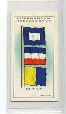 (Jd8859) INTERNATIONAL TOBACCO,INT CODE OF SIGNALS,EXPECTS,1934,#3