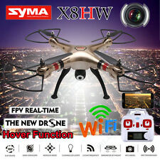 Syma X8HW 2.4G 4CH RC Quadcopter with Wifi FPV 2MP HD Camera Helicopters Drone
