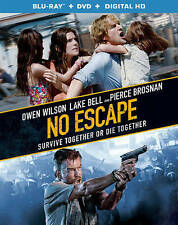 No Escape (Blu-ray Disc, 2015) *DVD and Digital copy not included