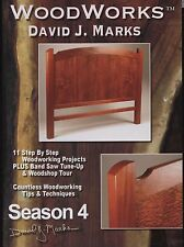 David J Marks WoodWorks Season 4 DVD Woodworking Furniture Instruction DIY Video