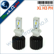 Lampade LED H3 Kit di conversione HEADLIGHT H3 12/24V 5700K BlackLight