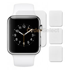 3X Anti-Scratch Clear LCD Screen Protector for Apple iWatch Watch 1st Gen 38mm