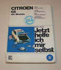 Reparaturanleitung Citroen GS - alle Modelle!