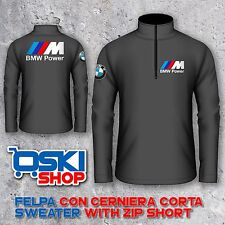 FELPA SWEET HOODIE ZIP BMW M POWER comunicaci colore e taglia S M L XL XXL