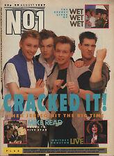 Then Jerico on Magazine Cover 1987  Kim Wilde  Chrissie Hynde Wet Wet Wet Poison