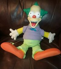Bart's Krusty The Clown Talking Killer Doll Simpsons Treehouse Of Horror 2001