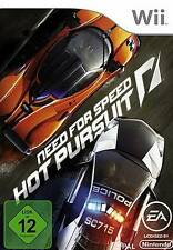 Nintendo Wii Need for Speed Hot Pursuit OVP ottime condizioni