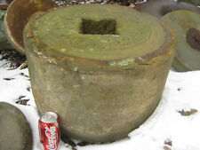 #2 ANTIQUE FLOWER GARDEN GRINDING STONE STAND TABLE BENCH MILL YARD ART STATUE