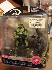 McFarlane Halo 3 Spartan Soldier Rogue Series 3 MOC Rare Action Figure NIB