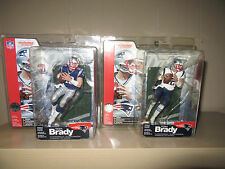 Tom Brady Series 5 RC Mcfarlane TRI-CARDED/TRILINGUAL Regular&Variant RARE