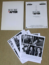 BEFORE AND AFTER Edward Furlong PRESSKIT Liam Neeson MERYL STREEP still photos
