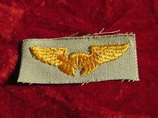 US ARMY Instructor Pilot wing Khaki Cloth Insignia Embroidered on twill unused