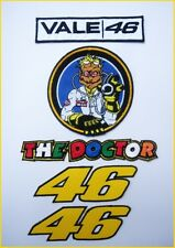 VR46 Valentino Rossi The Doctor patch #2 - set of 5 pieces