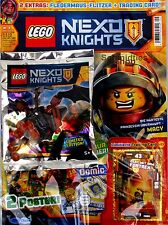 LEGO Nexo Knights Magazin inkl. Zubehör Nr.09/16 November Limited Edition