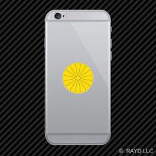 Japanese Imperial Seal Cell Phone Sticker Mobile Japan flag JPN JP