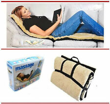 Full Body Massager,Vibration Heat Massage Bed Mattress Sofa Mat Cushion